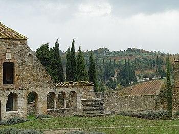 Abbey of Sant'Antimo, Montalcino, Tuscany