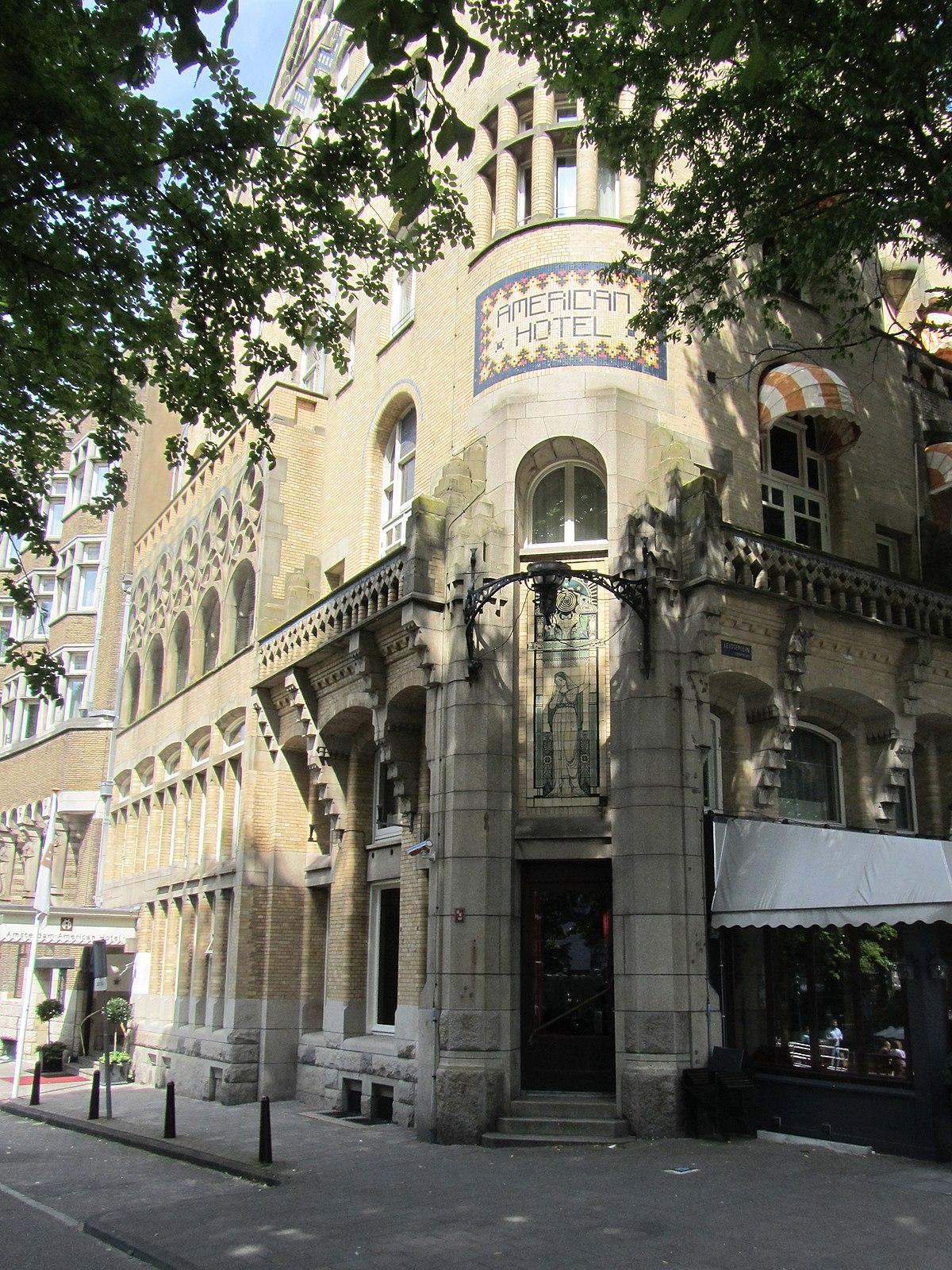 American Hotel Amsterdam Wikipedia