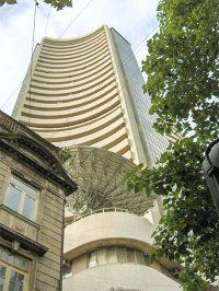 The Phiroze Jeejeebhoy Towers houses the Bombay Stock Exchange since 1980