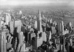 Empire State Building, New York City. from, to...
