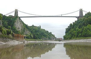 English: Clifton Suspension Bridge. Looking so...