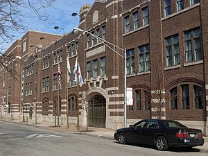 English: Chicago Military Academy, Bronzeville