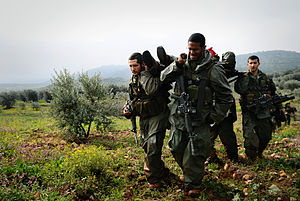 In the true spirit of the IDF, Israeli soldier...