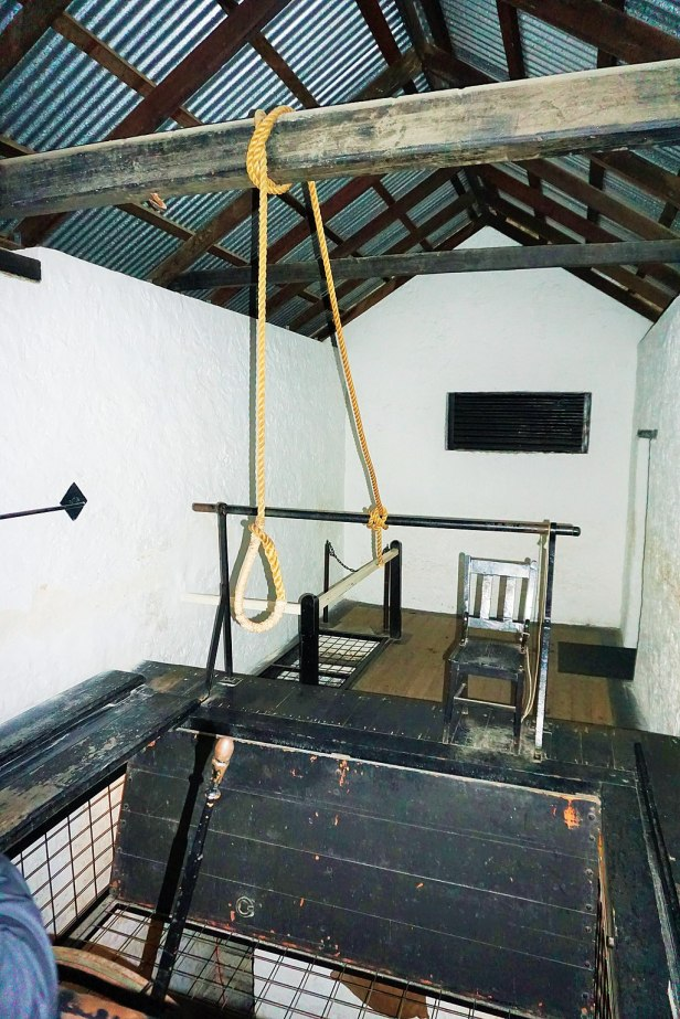 Fremantle Prison - Joy of Museums - The Gallows