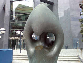 """Statue is called: """"Friendship"""", Calg..."""