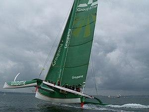 Groupama 2 Brest2008