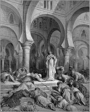 Invocation by Gustave Doré.