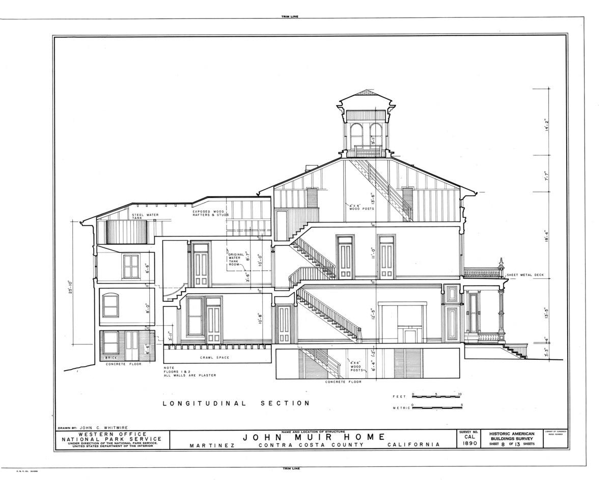 File John Muir House Alhambra Boulevard Martinez Contra