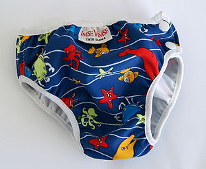 Cloth swimming diaper