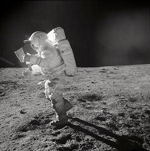 English: Astronaut Edgar D. Mitchell, Apollo 1...