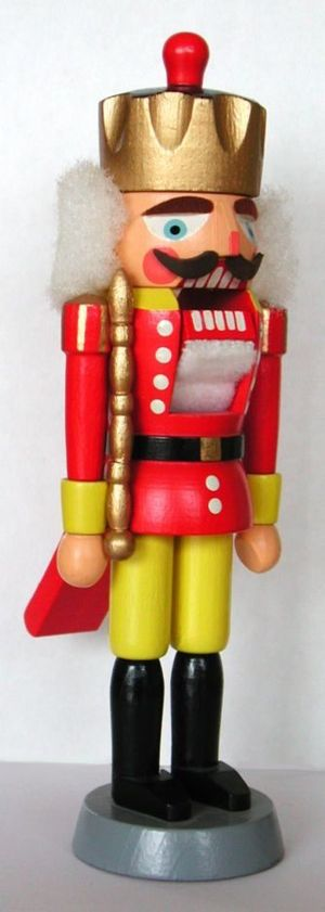 Nutcracker from Erzgebirge (East Germany)