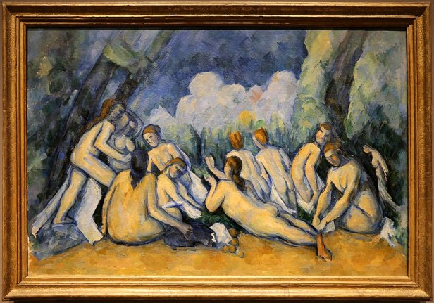Bathers (Les Grandes Baigneuses) by Paul Cézanne (The National Gallery, London)