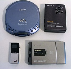 Members of the Sony Walkman line of products; ...