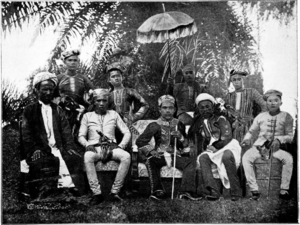 English: Sultan of Sulu and Suite
