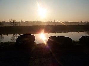 Sunrise on the River Bann