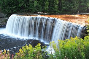 Upper Falls, Tahquamenon Falls State Park, Mic...