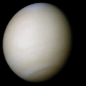 Venus from space. Weinbaum's Venus has a 500-m...
