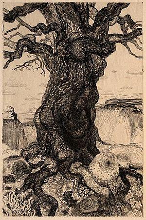 Wenzel Hablik Knorriger Baum