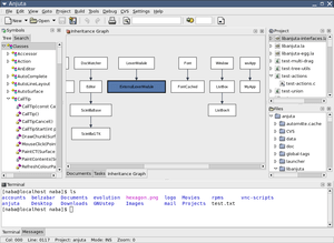 anjuta a c and c ide for the gnome environment