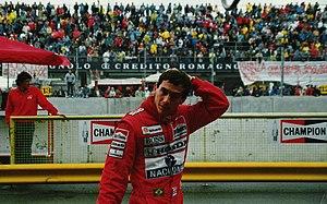 Ayrton Senna Imola 1989