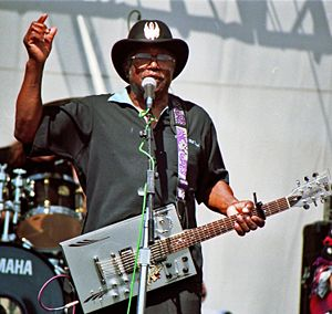 Bo Diddley at the Long Beach Blues Festival, Mr. Media Interview, Bob Andelman