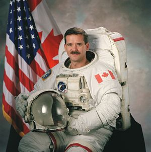 Astronaut Chris A. Hadfield Mission Specialist...