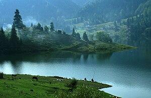 Cobilița Lake, Bistrița-Năsăud, Romania
