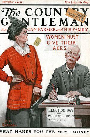 "English: ""Country Gentleman"" magazin..."