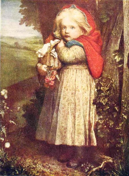 Ficheiro:George Frederic Watts - Red Riding Hood - Project Gutenberg eText 17395.jpg