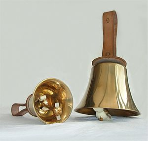 Photograph of two musical/change-ringing handb...