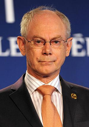 English: Herman Van Rompuy, President of the E...