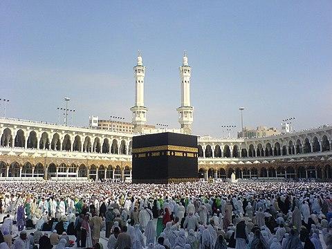 Die Große Moschee mit der Kaaba