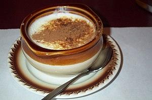 Rice pudding bowl