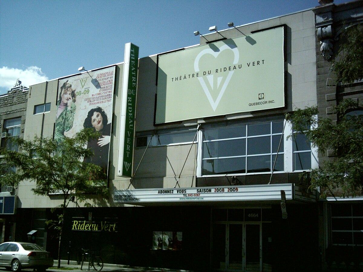 theatre du rideau vert wikipedia