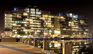 English: National Australia Bank, Docklands, M...