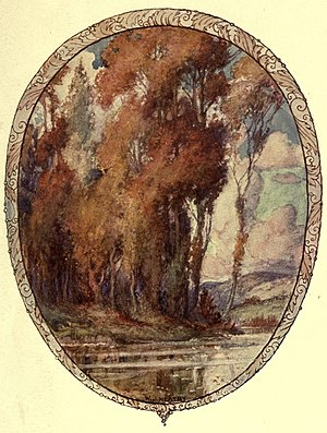 Illustration of poem by John Keats by W. J. Neatby