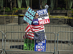 Westboro Baptist Church at the United Nations ...