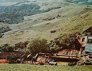 View of western ghats section in Karnataka.