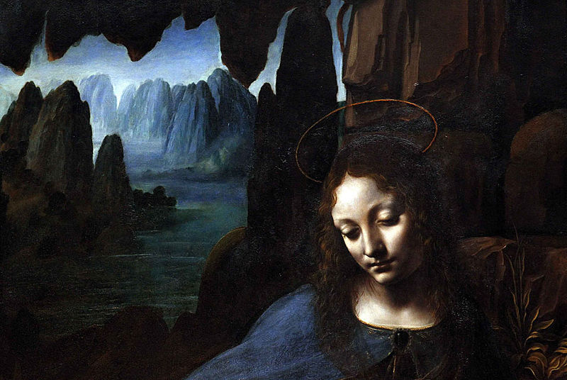File:'The Virgin on the Rocks' by Leonardo da Vinci (1491-1508), at the National Gallery in London.jpg