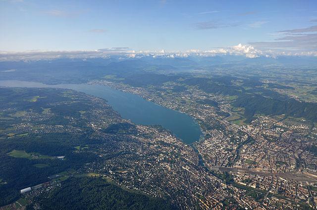 Zürich und untere Seegemeinden