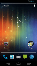 Screenshot of Android 4 on Galaxy Nexus