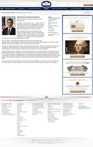 The biography of President Barack Obama that a...