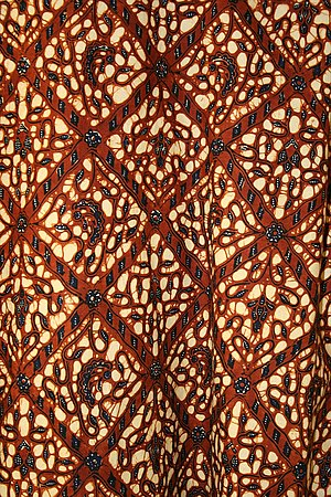 Batik cloth (purchased in Yogyakarta) - Gebati...