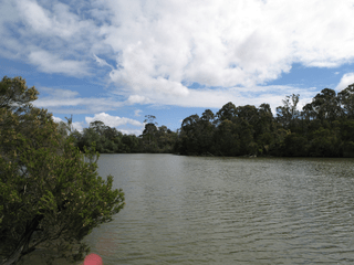 Blackburn Lake, looking south