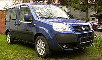 {{de|Fiat Doblo, Modell 2006, Ausstattungsvari...
