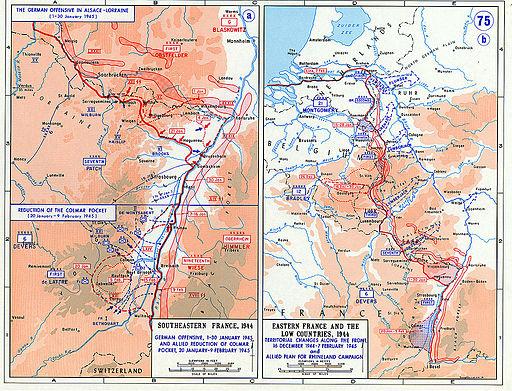 German counter in Alsace Lorraine