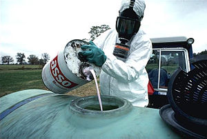 Monsanto pesticide to be sprayed on f...