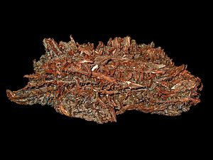 Copper, Cu; Staatliches Museum für Naturkunde ...