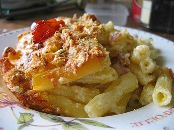 """Macaroni"" and cheese. No macaroni w..."