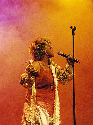 """Neneh Cherry, performing live at the """"Are..."""